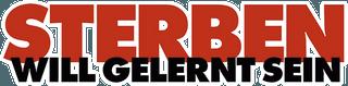 Sterben_will_gelernt_sein_logo